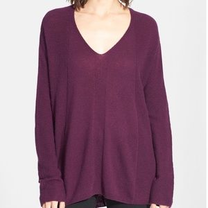 Vince cashmere light weight V-neck  pullover XXL